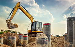 brownfield digger construction